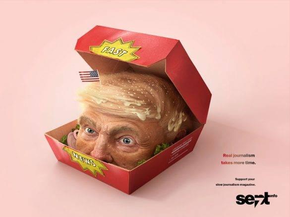تبلیغات خلاق و ترامپ