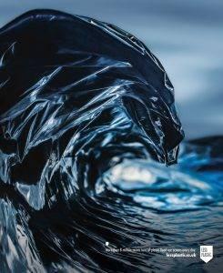 خطر پلاستیک برای دریا