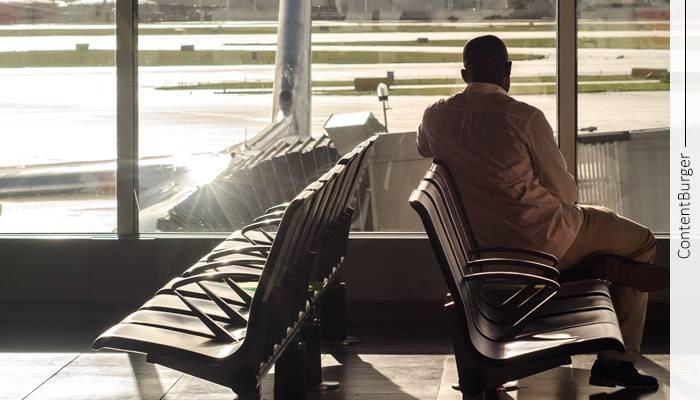 بررسی رفتار کاربر در فرودگاه