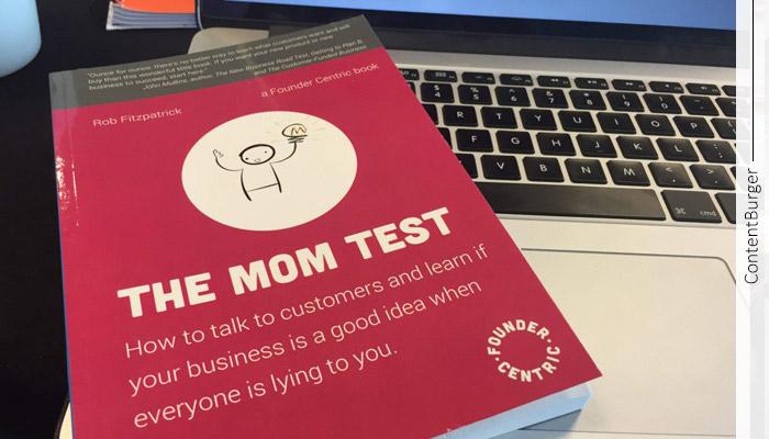 پرسشنامه آنلاین و کتاب تست مامان