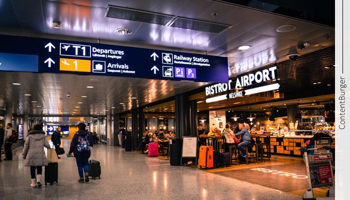 معماری اطلاعات در فرودگاه