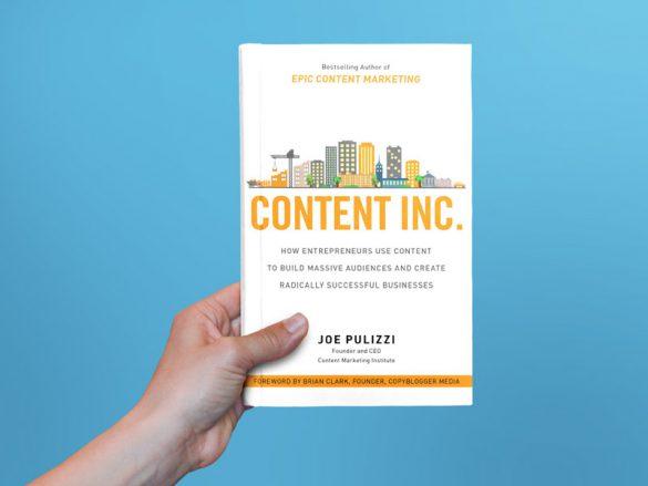 هایلایت کتاب Content Inc