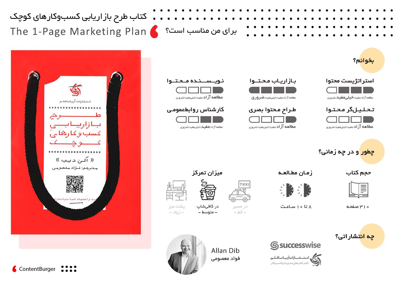 کتاب طرح بازاریابی کسب و کارهای کوچک
